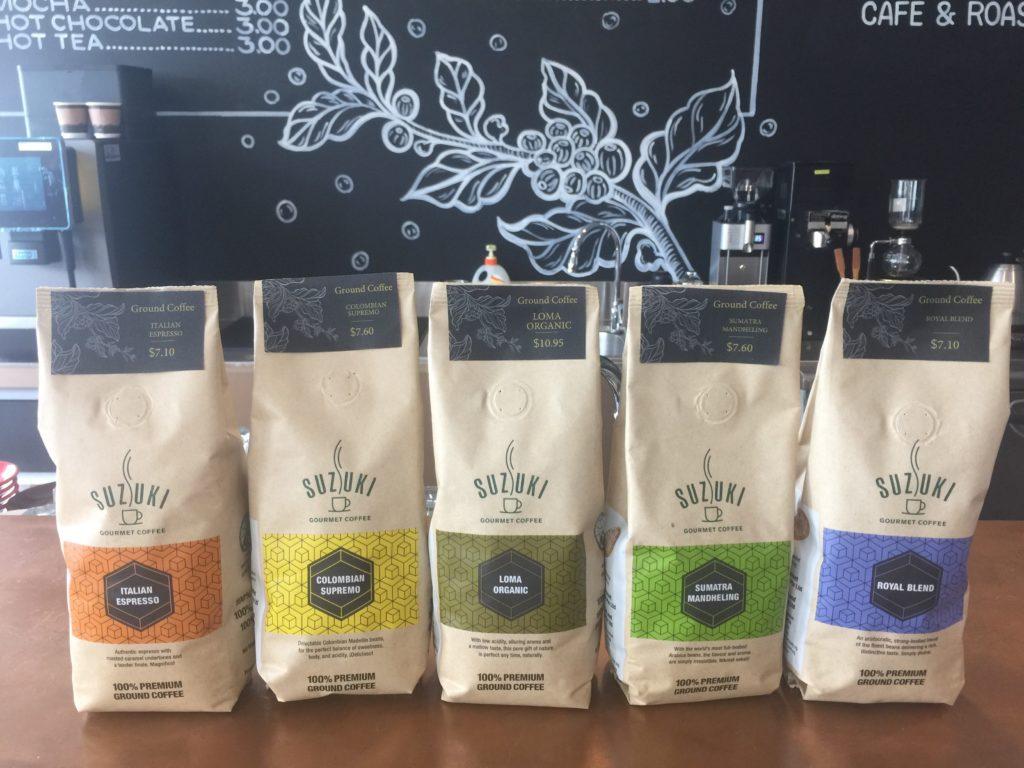 SUZUKI gourmet coffeeのコーヒー豆