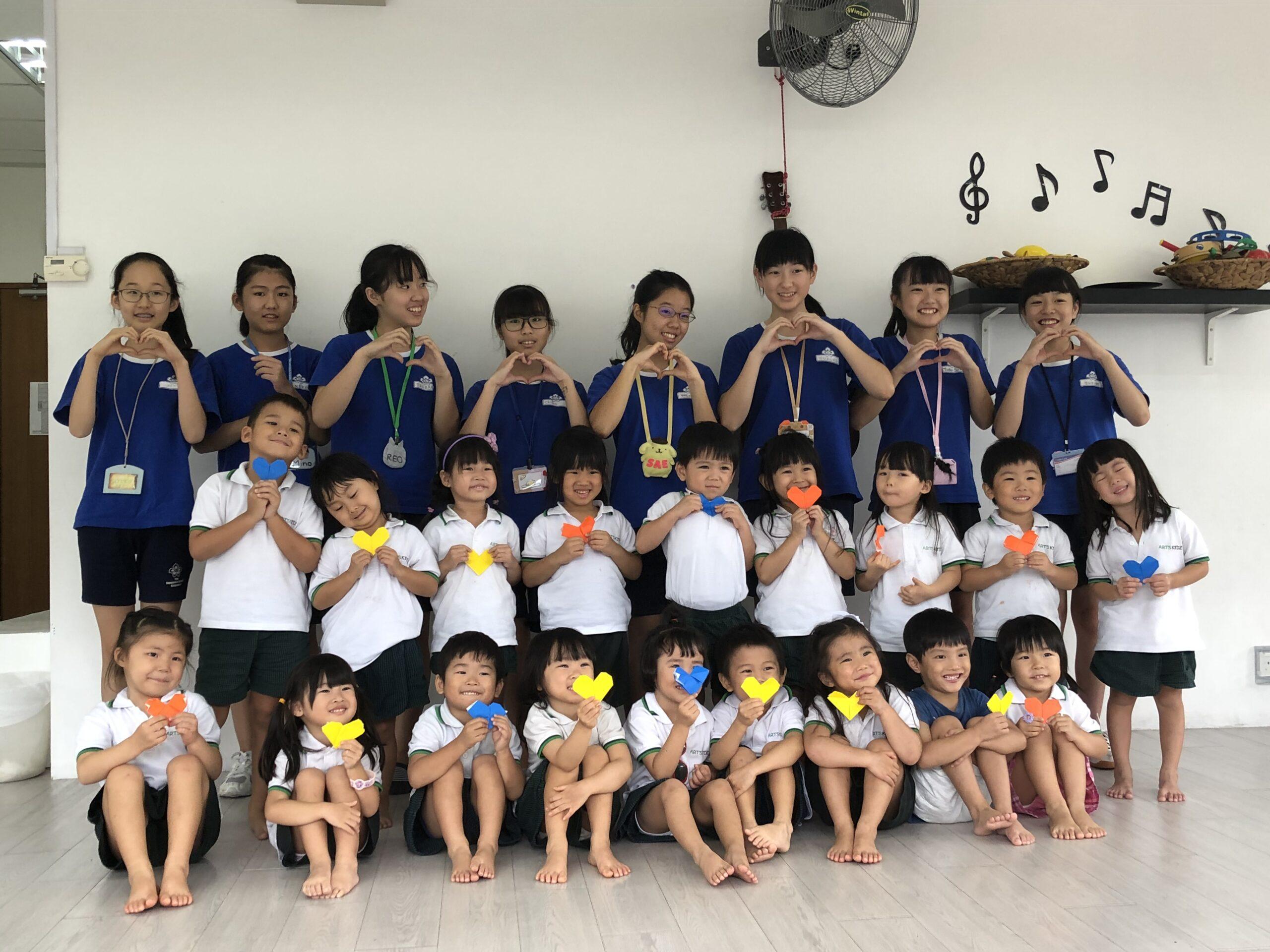 日本人学校中学部職場体験@ARTS KIDZに女子生徒が参加しました ...