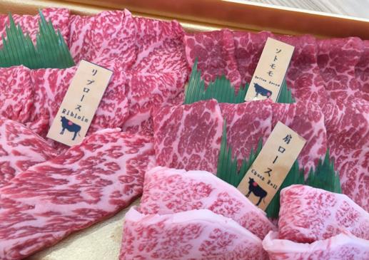 国産牛焼肉盛り合わせ