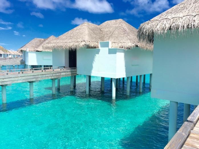 フォトジェニックなモルディブのリゾート 「Seaside Finolhu」