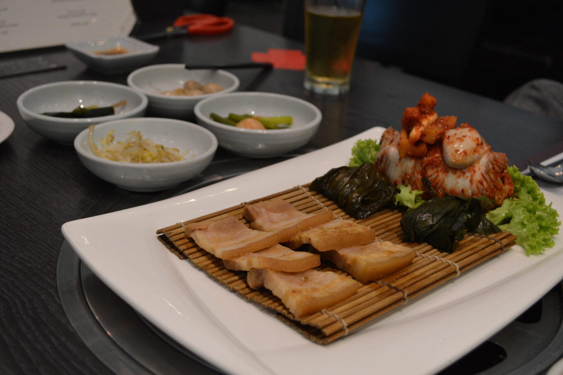 シンガポールの韓国料理Changでワイン女子会@デンプシー