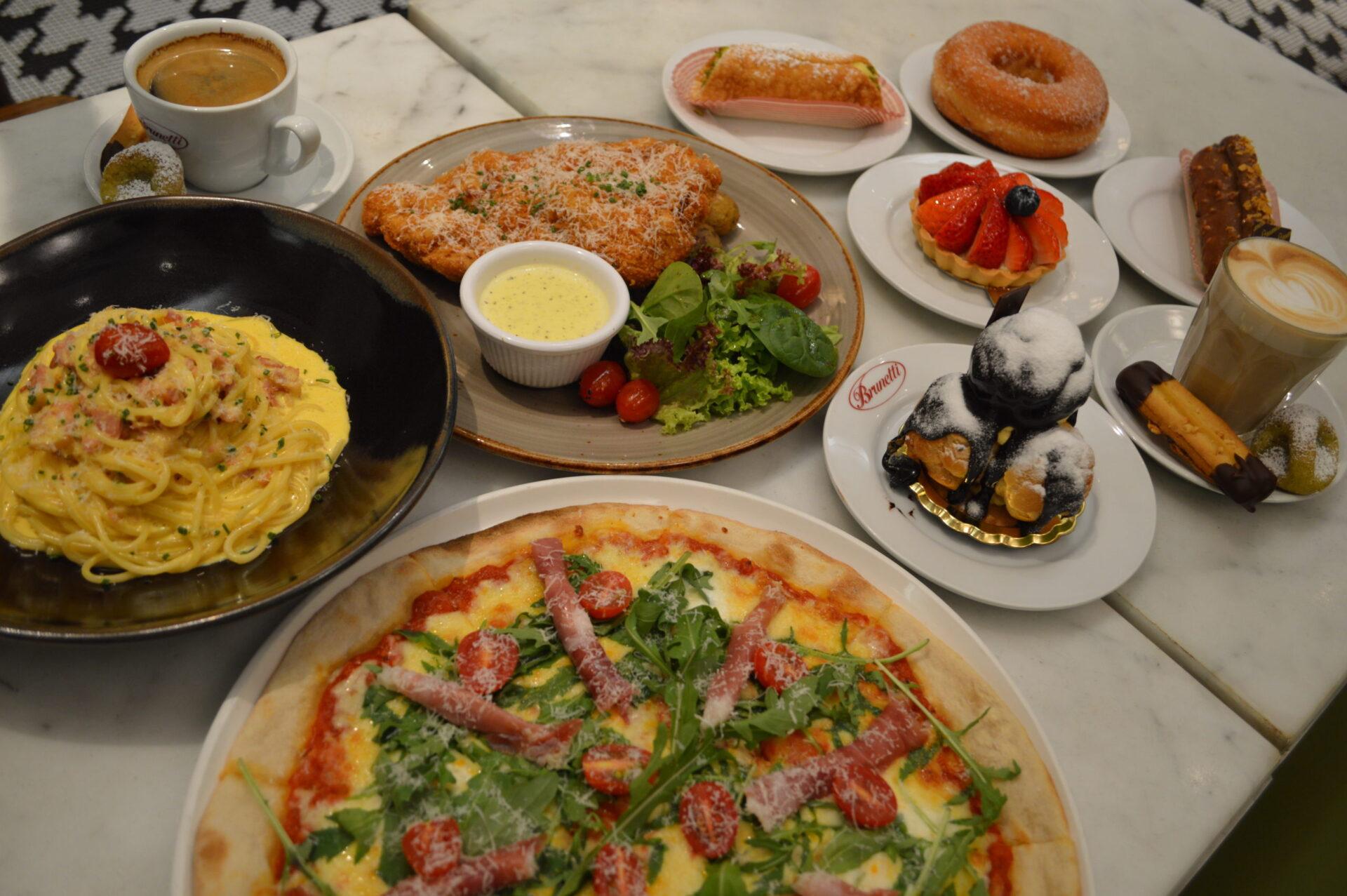 タングリンモールでカジュアルに食す イタリアン デザートもパスタもピザも全てが本格派