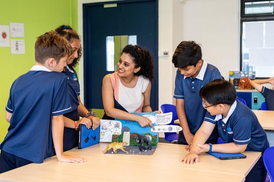 生徒一人ひとりのレベルに合わせた英語学習を実践。シンガポールで人気が高まるインター校「OWIS」