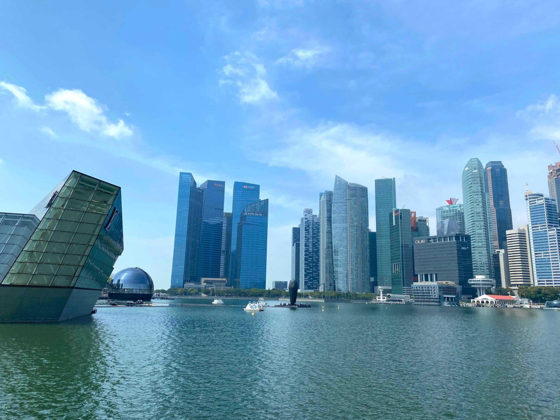 シンガポールらしさを十二分に満喫できる<マリーナエリア>