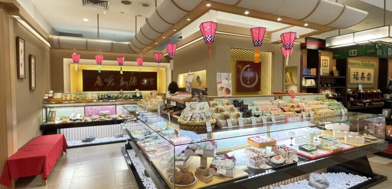 シンガポールでは貴重な和菓子専門店「宗家 源吉兆庵」。日本の四季を感じる上質な和菓子をシンガポールでも