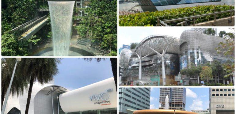 【魅力たっぷり】シンガポールのショッピングモールを紹介