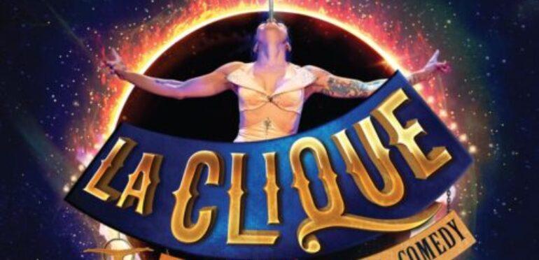 1年ぶりにサンズシアターで公演再開!マルチアングルで楽しいLa Clique。サーカス、コメディ、バーレスクがミックスされて大興奮