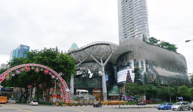シンガポールのモール、ION Orchardが6月16日まで閉鎖。訪問者に無料の検査を実施