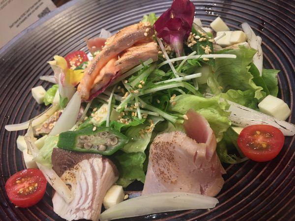 けん司 海鮮サラダ