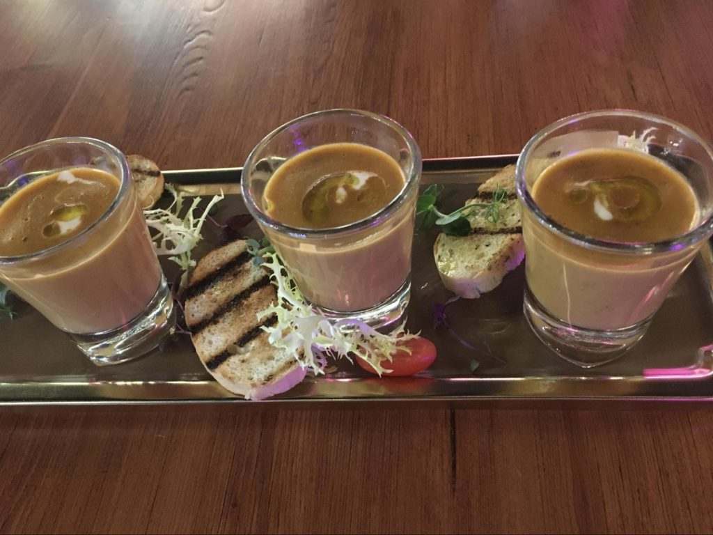 Lobster Bisque Shooter