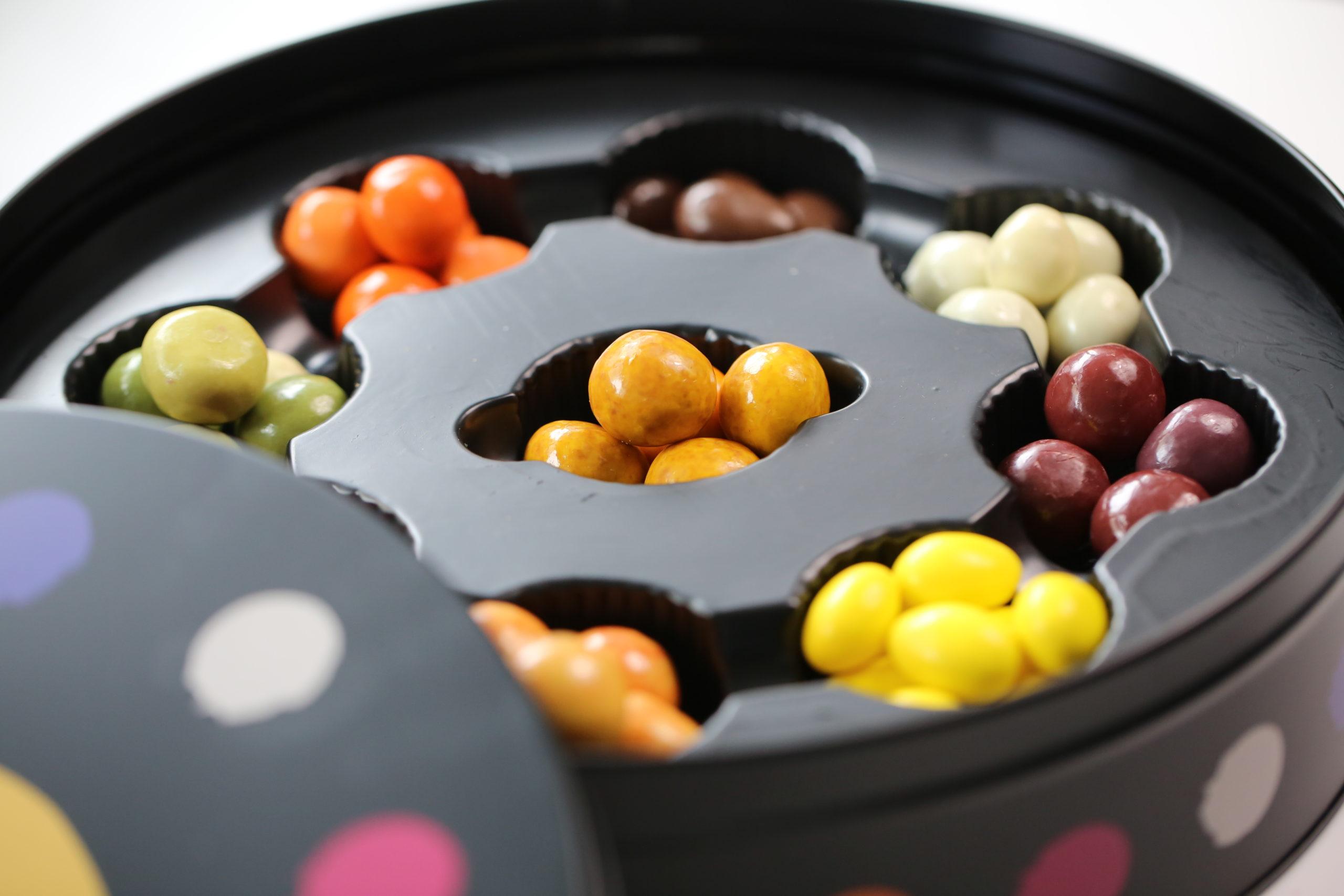 チョコレートコートナッツ&フルーツジェリー