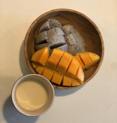 朝のフルーツ