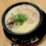 シンガポールの豚骨ラーメンの真髄。12時間焚いて作る豚骨スープは臭みない仕上がり
