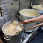 一幸舎の豚骨スープ