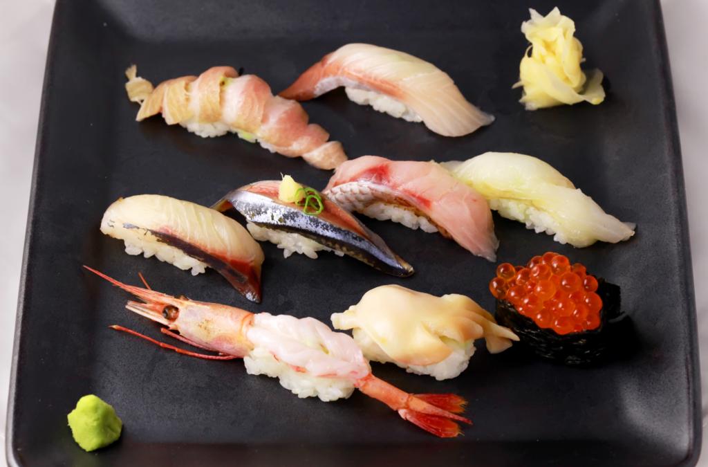 おすすめ寿司8貫