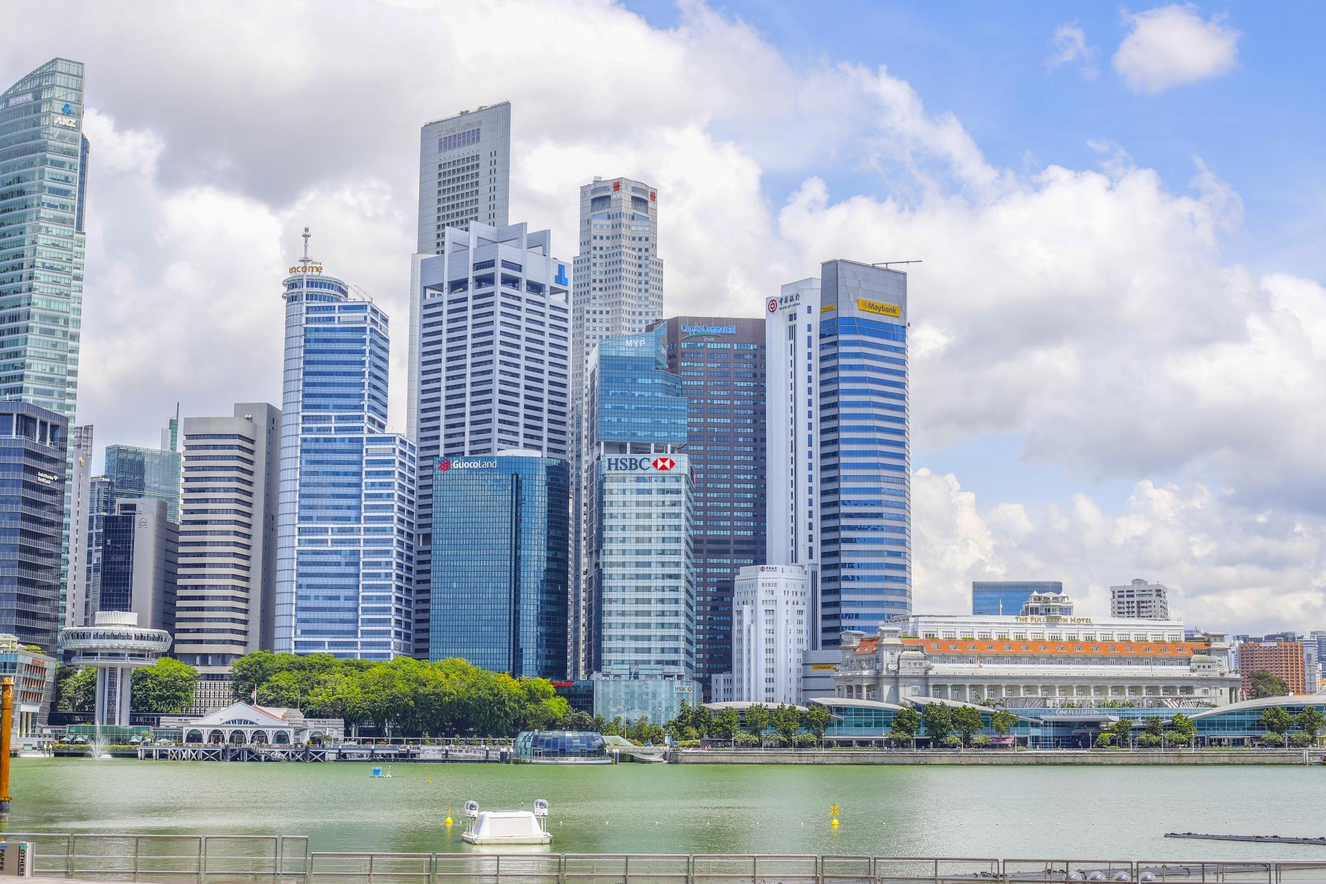 シンガポールオフィス街
